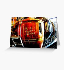 No Beer Goggles Needed Greeting Card