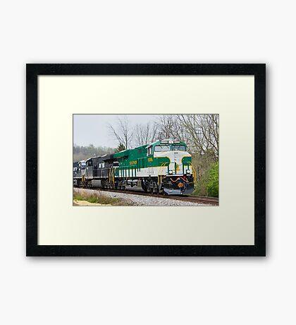 NS 8099 Southern Heritage Scheme Framed Print