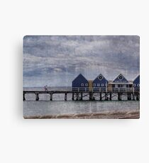 Busselton Jetty # 1 Canvas Print