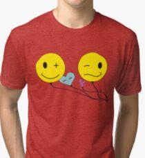 Smiley Tits.  Tri-blend T-Shirt