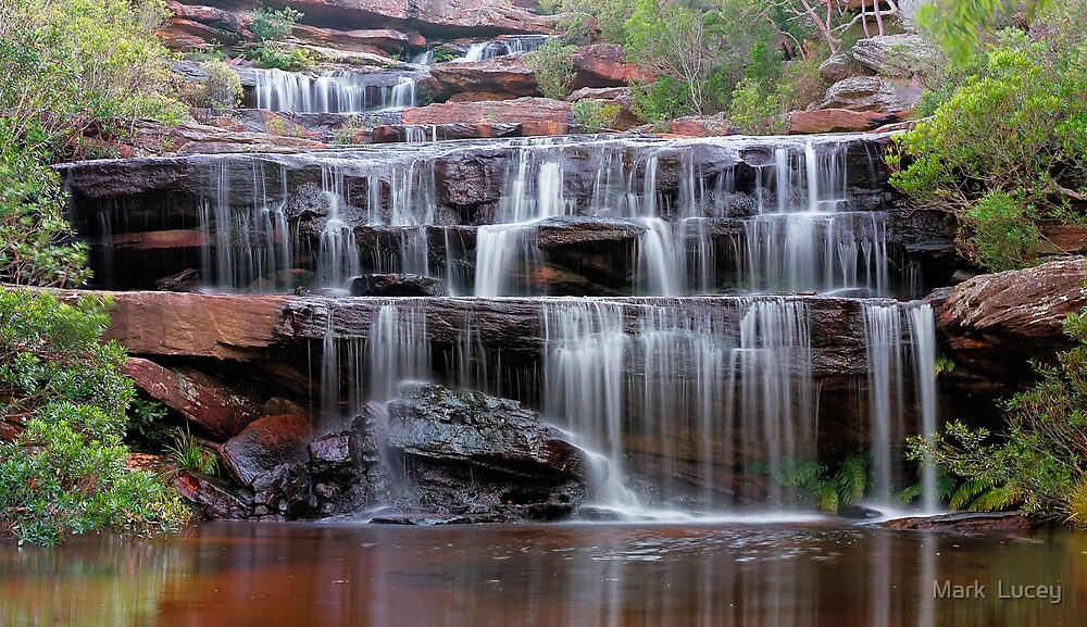 Falls of the Bush by Mark  Lucey