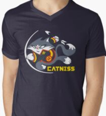 Catniss Men's V-Neck T-Shirt