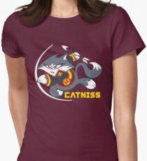 Catniss Womens Fitted T-Shirt
