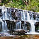 Wattamolla Creek by Mark  Lucey