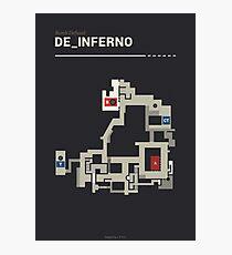 Counter-Strike de_inferno  Photographic Print
