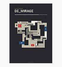 Counter-Strike de_mirage Photographic Print