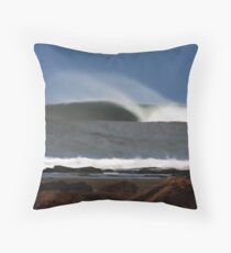 Bells Beach Blur Throw Pillow