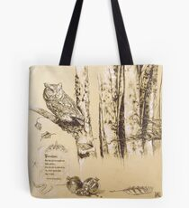 """""""Abduction of Persephone"""" section 1 of diptych Tote Bag"""
