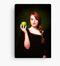 The Apple Canvas Print