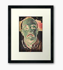 Mustache Framed Print