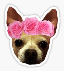 Lily Flower Crown Sticker