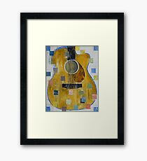 King of Guitars Framed Print