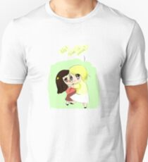 """she is mine !!"" T-Shirt"
