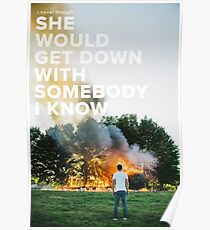 Sam Hunt - Break Up In A Small Town Poster