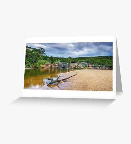 Wattamolla Lagoon Greeting Card