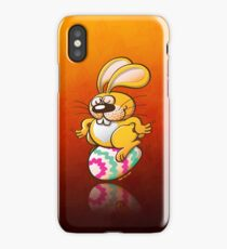 Bunny Sitting on an Easter Egg iPhone Case