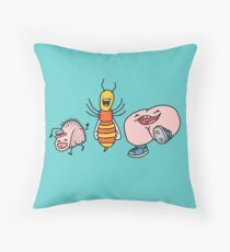 "Willy Bum Bum - ""Willy Wasp Bum"" Throw Pillow"