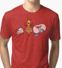 "Willy Bum Bum - ""Willy Wasp Bum"" Tri-blend T-Shirt"