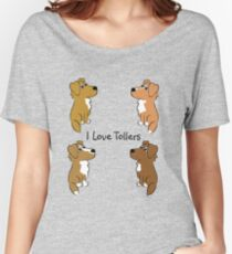I Love Tollers! Women's Relaxed Fit T-Shirt