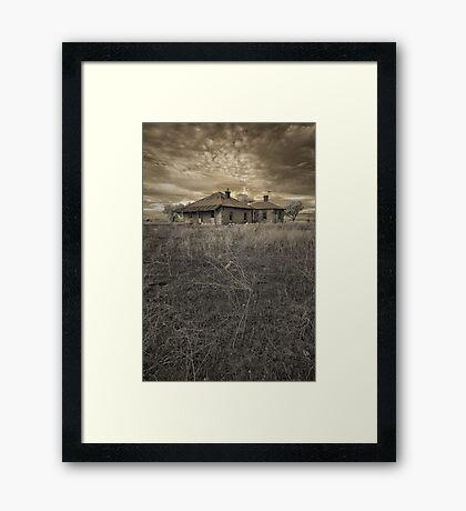 Tumbled Down Homestead Framed Print