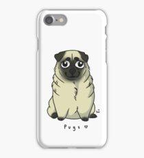 Cute Pug iPhone Case/Skin