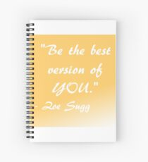 Zoella Quote Spiral Notebook