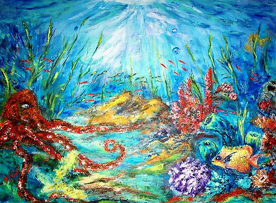 THE OCEAN  by Mary Sedici