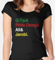 ATCQ Women's Fitted Scoop T-Shirt
