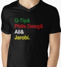 ATCQ Men's V-Neck T-Shirt