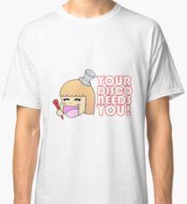 Your Disco Needs You Chibi Classic T-Shirt