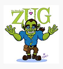ZUG HUG-O-DAY! Photographic Print