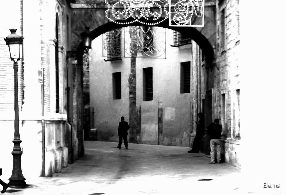 Beneath an Arch by Berns