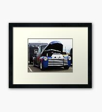 Truck and Trailer Framed Print