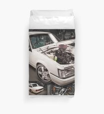 Chris Irvin's Holden VK Commodore Duvet Cover