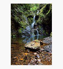 White Star Waterfall Photographic Print
