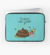 """Willy Bum Bum - """"Smelly Old Wasp!"""" Laptop Sleeve"""