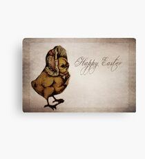 Easter Chick Canvas Print