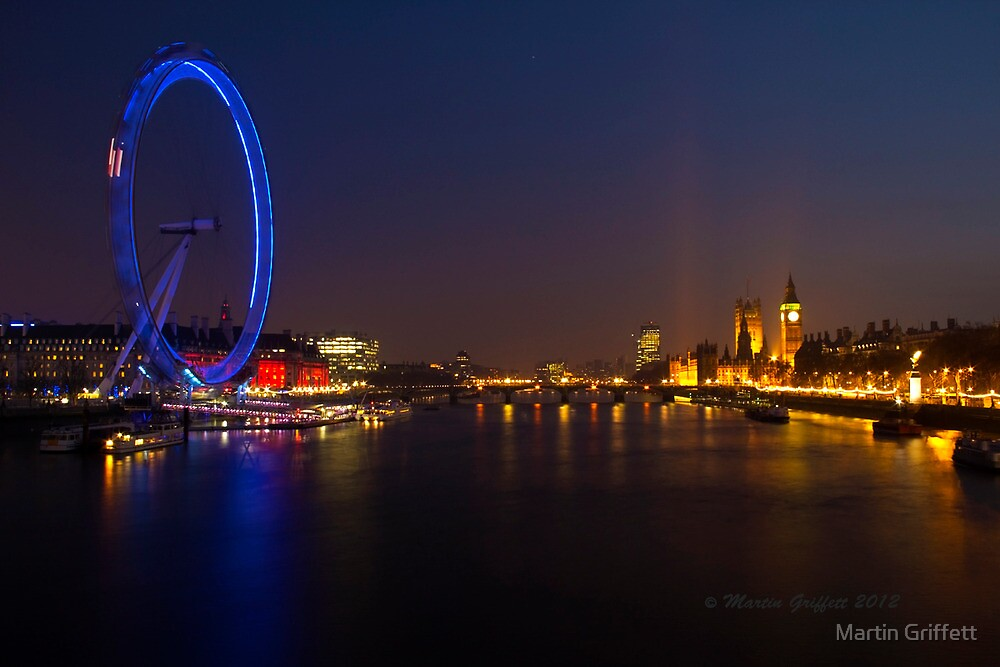 The Eye at Night by Martin Griffett