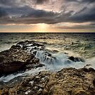 Fantail Bay Storm Drift by Ken Wright