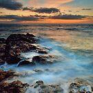 Fantail Bay Last Light by Ken Wright