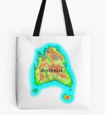 Tasmania's Australia Tote Bag