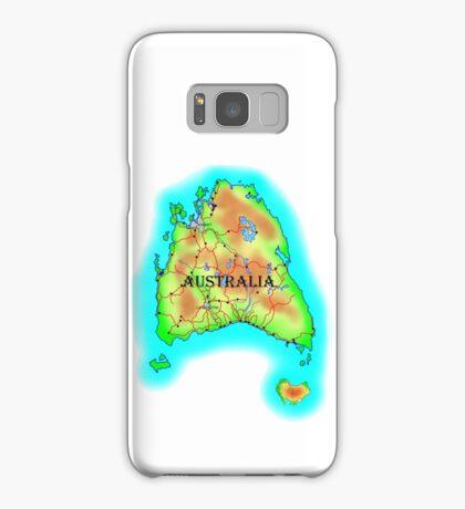 Tasmania's Australia Samsung Galaxy Case/Skin