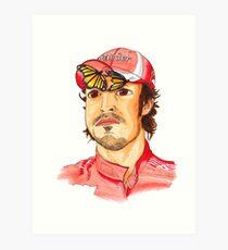 Fernando Alonso Art Print