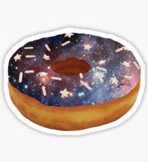 Space Donut Sticker