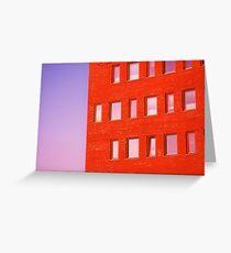 façade Greeting Card
