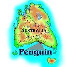 Penguin - Tasmania by David Fraser