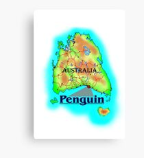 Penguin - Tasmania Canvas Print