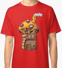 Yellow Steampunk Mushroom Classic T-Shirt