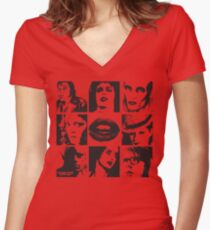 Rocky Horror Picture Show Women's Fitted V-Neck T-Shirt