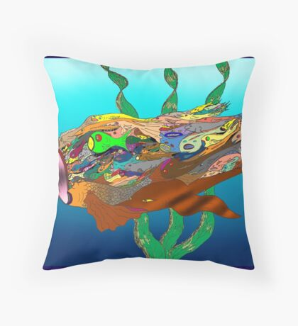 Fish - Plural Throw Pillow